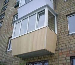 остекление балконов в Шелехове